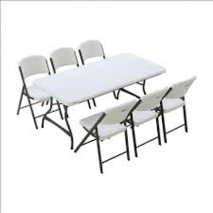 6' Rectangular Tables-