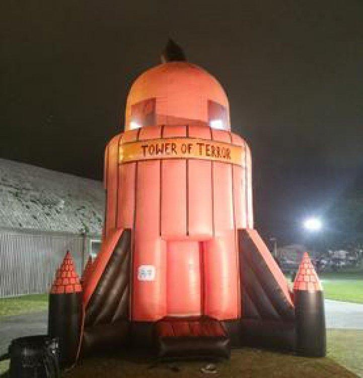 Tower Of Terror Indoor Parachute Ride