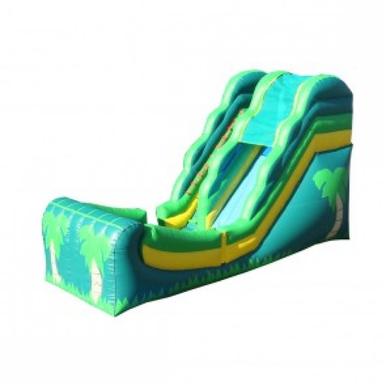 Tropical Water slide 14'