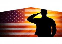 American Soldier Banner