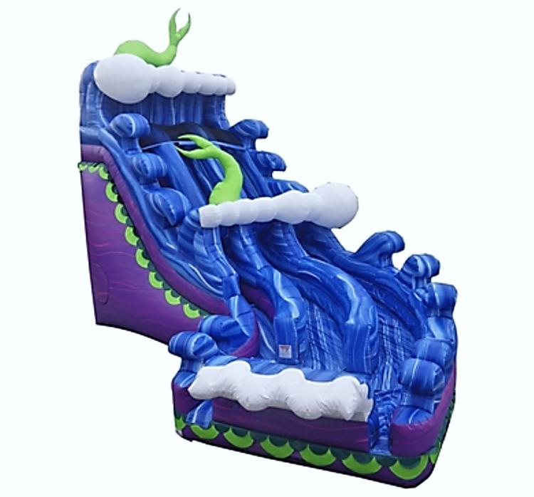 Amazing Mermaid Water Slide
