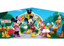 Mickey and Minnie Banner